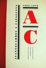 """Catàleg """"Avantguardes a Catalunya (1906-1939)"""""""
