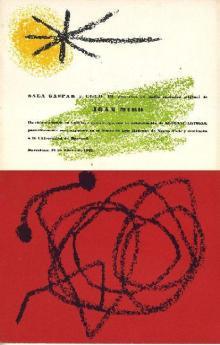 Exposició de Joan Miró a la Sala Gaspar organitzada pel Club 49