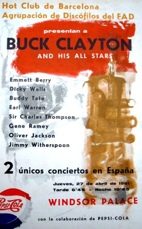 Concert de Buck Clayton - Club 49