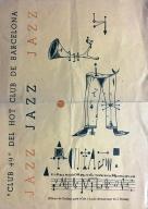 Cartell de Cuixart - Club 49