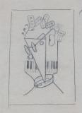 """""""Dadà 14"""" (1929) dibuix sobre paper"""