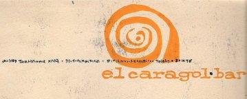 """Disseny logotip """"El caragol bar"""" de Jaume Sans"""