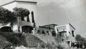 Domicili familiar a Cabrera de Mar dissenyat per Jaume Sans (c.1950). Fotografia: arxiu família Sans