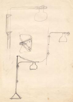 Jaume Sans (esbós disseny llum)