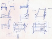 Jaume Sans (esbós disseny mobles)