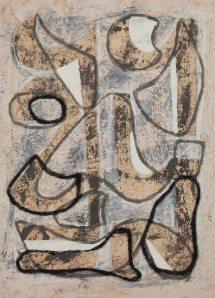 """JAUME SANS """"Sense títol"""" (entre 1940 i 1955)"""
