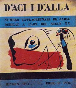 """""""D'aci i d'allà"""" portada del número dedicat a l'art del segle XX (1934)"""