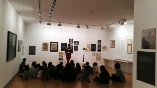 """Activitats pedagògiques exposició """"Jaume Sans"""""""