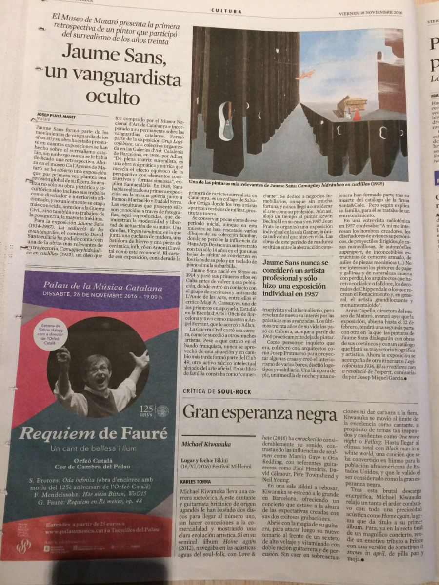 Josep Playà - La Vanguardia