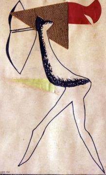 JAUME SANS Collage (1935)