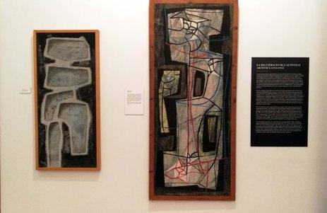 """Erwin Bechtold (d.) Jaume Sans (e.) """"El context artístic (1930-1960)"""""""