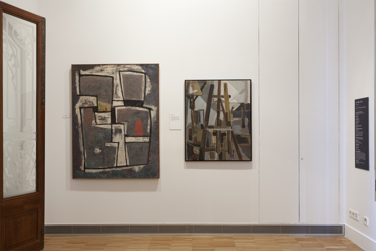 Jaume Sans. El context artístic (1930-1960).
